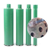 """4PCS Combo Wet Diamond Core Drill Bit fit Concrete Hole Saw 1.73"""",2.5"""",3.5"""",4.4"""""""