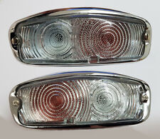 MG Midget Lucas Front Indicator, Sidelamp Set, Chrome Bumper Cars, 13H428,9