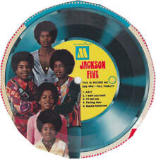 Michael Jackson 5 Five Cereal Disque 45t Cardboard Record #4 Single Picture Disc