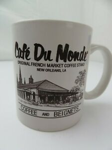 Cafe Du Monde Original French Market Coffee Stand Mug Cup New Orleans