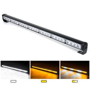 "Xprite 31"" LED Strobe Light Bar Traffic Advisor 13 Flashing Patterns Emergency"