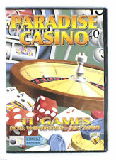Paradise Casino PC CDROM. Texas holdem, black jacks etc
