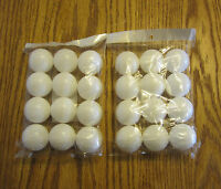 24 NEW PRACTICE PING PONG BALLS TABLE TENNIS BEER PONG BALL