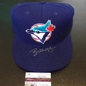 Roy Halladay Signed Authentic Toronto Blue Jays Game Model Hat Cap With JSA COA