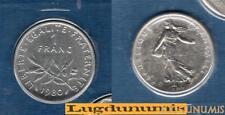 FDC 1980 1 Franc Semeuse 1980 FDC 60 000 Exemplaires Scéllée du coffret FDC