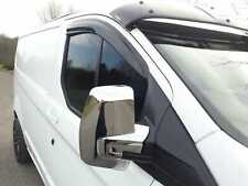FORD TRANSIT CUSTOM CHROME MIRROR COVERS SET CASING CAPS FOR 2012 ONWARDS