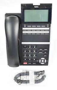 NEC DT400 Series DTZ-12D-3 (BK) TEL Black Office Telephone