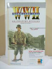 Dragon -  WW II  Normandy 1944 , Scott  NIB  1:6 Scale  (120K)  70023