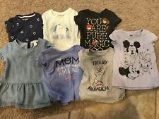 Girls lot summer  clothes 7pc size 2T/24 months Assorted Disney Harry Potter