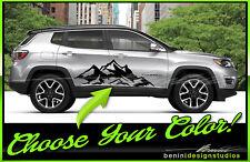 2017 2018 Jeep Compass Moutain Range Graphics