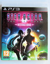 Star Ocean The Last Hope International PS3  DISC CASE BOOKLET ALL MINT CONDITION