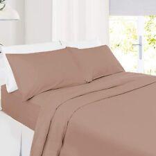 🎁Urban Premium Comfort 1800 Count Deep Pocket Cooling Bed Set-King Size,Taupe