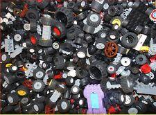 Genuine LEGO WHEELS 5OOg assorted loose bundle various sizes types small-medium