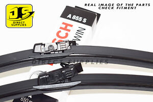 MERCEDES-BENZ M-CLASS (W166) ML NEW BOSCH A855S Aerotwin Front Wiper Blades Set