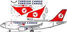 Turkish Cargo Airbus A-310F decals for Revell 1/144 kit