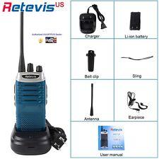 Retevis RT7 5W UHF 400-470MHz FM Professional Walkie with Radio Scan - BRAND NEW