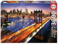 Manhattan al atardecer puzzle 3000 piezas Educa 18508