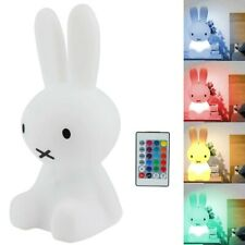 Night Lights for Kids Bunny Shaped With Remote Control LED Lamp Children's Room