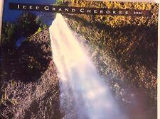 Jeep Grand Cherokee Magazine Brochure 2001 102517nonrh