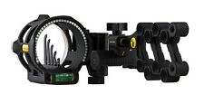New 2016 Trophy Ridge React V5 Vertical In Line Pin Bow Sight RH Black AS845
