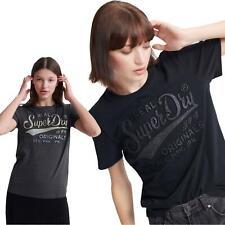 Superdry Real Original Glitter Embossed T-Shirt