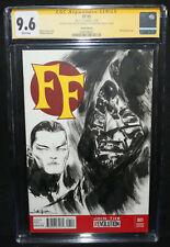 Fantastic Four #1 - Sketch by Jae Lee - CGC Signature Series Grade 9.6 - 2013