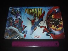 MARVEL COMICS SPIDER-MAN VS THE GREEN GOBLIN  3-D HOLOGRAM PLACEMAT 2005