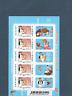 Frankreich 2008.FEUILLE von 5 Briefmarke Selbstklebend Neuf.fête des Tex Avery.