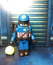 Marvel Minimates WW2 UTLIMATE CAPTAIN AMERICA Variant Wave 27 Avengers Loose