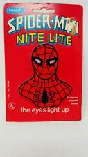 Vintage Spider-man Night Light 1978