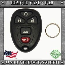 New Replacement Keyless Entry Remote Car Key Fob Shell Case and Pad GM 22733524