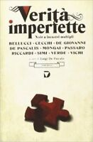Verità Imperfette. Noir A Incastri Multipli,L. De Pascalis (A Cura Di)  ,Del Vec