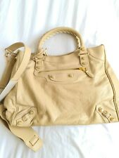 Balenciaga City Bag - Brand New - Beige with Gold hardware RRP 1350