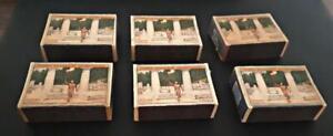 GREECE  6pcs  OLYMPICS  FLAME TORCH 1936    MATCHBOX  6boxes
