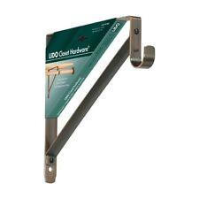 Heavy-Duty Shelf Rod Brackets 12 x 11 in Copper Oil-Rubbed Bronze Shelving Rod