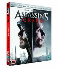 Assassin's Creed (3D + 2D Blu-ray, 2 Discs, Region Free) *BRAND NEW/SEALED*