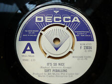 "Soft Pedalling Its So Nice Decca Demo 7"" Vinyl"