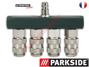 PARKSIDE® Répartiteur Vannes de répartition 4 voies