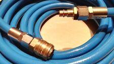PROFI Druckluft Schlauch PcV 10mm mit Schnellkupplungen Kompressor 50M + NW7.2