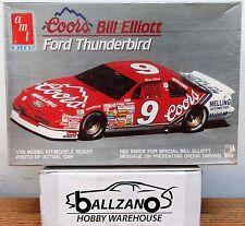 AMT ERTL 6962 NASCAR Coors Ford Thunderbird Bill Elliott #9 model kit 1/25
