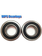 (Pack of 2) R16-2RS Radial Ball Bearings Double Sealed 1.00'' x 2.00'' x 0.50''