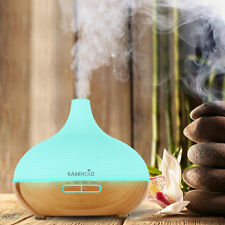 Easehold LED Ultrasonic Mist Humidifier Aroma Essential Oil Diffuser For Home
