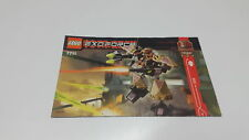 LEGO !! INSTRUCTIONS ONLY !! FOR  EXO FORCE 7711