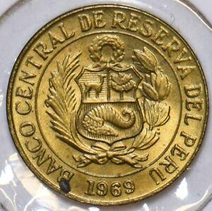 Peru 1969 5 Centavos 196606 combine shipping