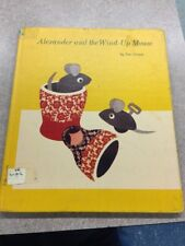 Alexander And The Wind-Up Mouse By Leo Lionni 1967 Library Inside Corners Torn