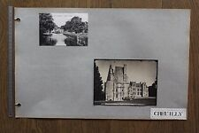 (BC) Photo + estampe et carte postale CREULLY FONTAINE HENRY  F.M.S Phot.