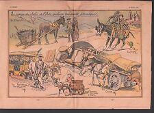 carros de cesto madeira CHAR CHEVRE CHAMPS ELYSÉES    ILLUSTRATION 1932