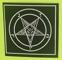 "Lot of 5 3x3"" Pentagram Sticker - Decal Bumper Occult Baphomet Satanic Leviathan"
