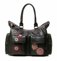 Desigual Chandy London Shoulder Bag Negro