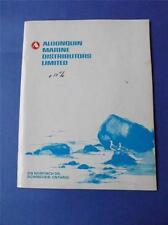 ALGONQUIN MARINE DISTRIBUTORS LIMITED CATALOG 1975 PARTS BOATS ONTARIO CANADA